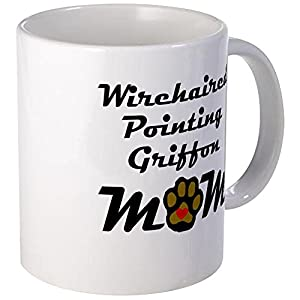 CafePress Wirehaired Pointing Griffon Mom Mugs Unique Coffee Mug, Coffee Cup 34