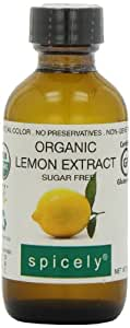 Spicely Organic Extract Lemon - Bottle