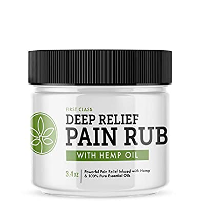 Deep Relief Pain Rub with Hemp Oil from Unified Funding