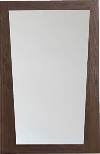American Imaginations ai-4–1210moderno plywood-melamine Madera Espejo, 21-Inch X 34-Inch, acabado wengué.
