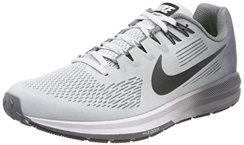 Uomo Cool Anthracite Nike Platinum 001 Pure Air Multicolore Zoom Scarpe 21 Running Structure Grey S4qvYS