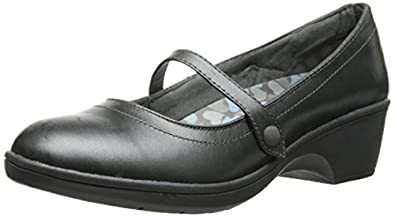 skechers dress shoes womens. skechers flexible-staple womens heeled mary jane shoes pewter dress f
