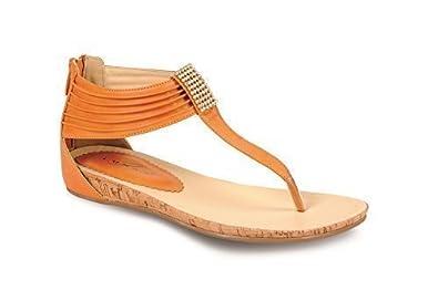 Fantasia Boutique Damen Diamant Strukturiert Kleiner Keil Damen Tanga Mode Sandalen Schuhe