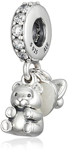 PANDORA Baby Treasures with Clear CZ Dangle 792100CZ