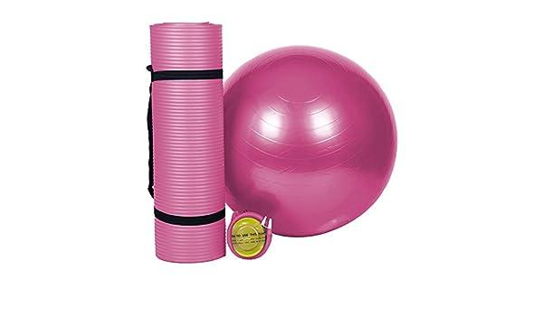 YCLOTH Kit de Yoga para el hogar, Almohadilla para ...