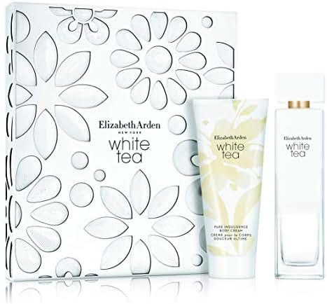 Elizabeth Arden White Tea Set, EDT 3.3 Oz. & Pure Indulgence Body Cream 3.3 oz