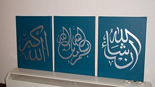 329a5999c Yatsen Bridge Hand Painted Arabic Calligraphy Islamic Wall Art 3 ...