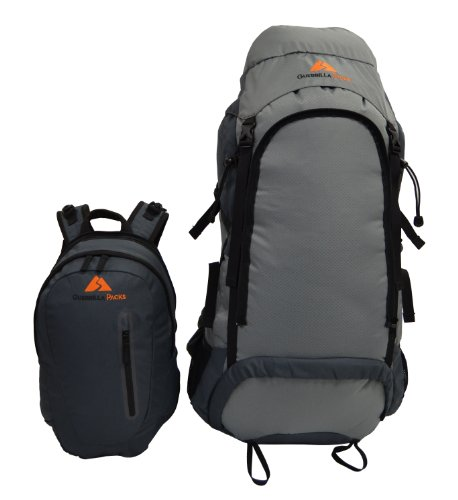 Guerrilla Packs Roundhouse Internal Frame Backpack, Middle Grey/Dark Grey by Guerrilla Packs (Image #5)