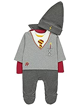 Halloween Costume 6 9 Months Uk.Officially Licensed Harry Potter Baby All In One Fancy Dress Halloween Costume With Cape Hat For Ages 9 12 Months Made Under Warner Bros License