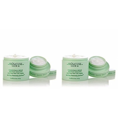 Signature Club A 5 Essentials Creme with Plant Stem Cell Duo Set of 2 Jars!
