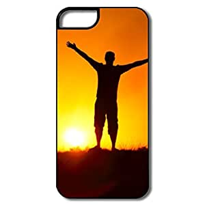 PTCY IPhone 5/5s Designed Funny Sunshine