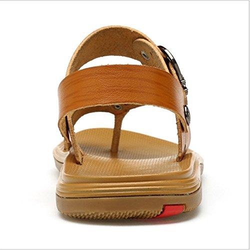 1 0 Pantofole 3 da A pantofole Da Estivi Colore Wagsiyi Sandali CM Scarpe 24 Dimensione Marrone 41 Uomo E Marrone EU Traspiranti Da Uso 28 0 Comodi Sandali Doppio spiaggia Spiaggia pf1axw81q