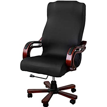 Amazon Com Btsky Back Office Chair Covers Stretchy For