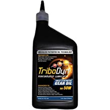 TriboDyn 50W Full Synthetic Oil 1 US Quart - Race Proven to Reduce Gearbox Temperatures and Reduce Friction