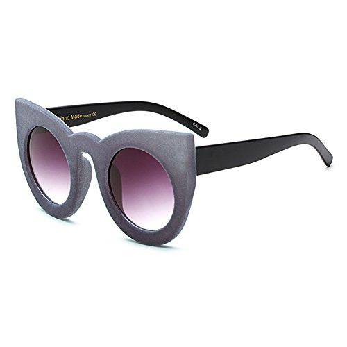 6dcc675d66 80% OFF Vintage Cat Eye Sunglasses Yying Nuevas Mujeres Plush Personality  Velvet Frame