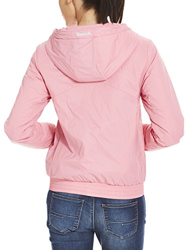 Bench Blouson Femme Rose Windbreaker Pk052 Light Padded chateau rq4RrT
