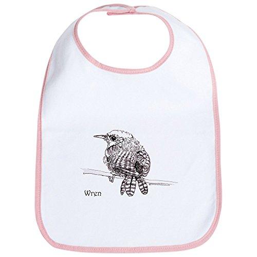 CafePress - Wren Bib - Cute Cloth Baby Bib, Toddler Bib