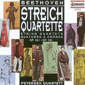Beethoven String Quartets Op. 18/1, 131 / Petersen Quartet