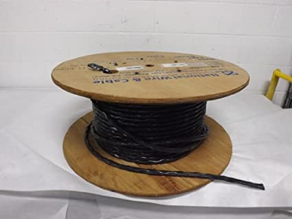 National Wire & Cable NWPC312SJ 12 AWG 6 Conductor Cable, (300 ft ...