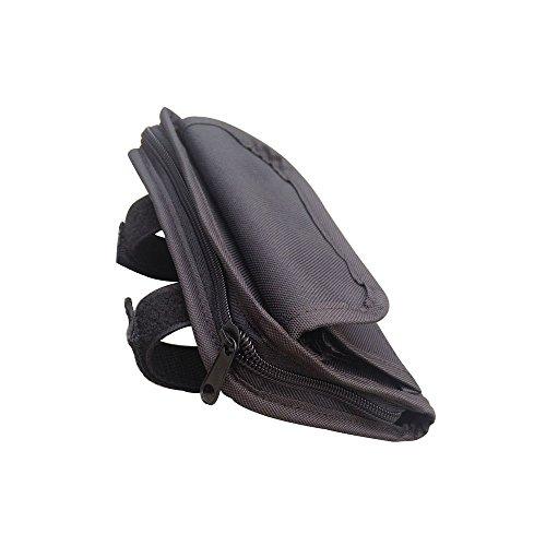 Safaripal Roll Bar Sunglass Holder Storage Bag Pouch Black