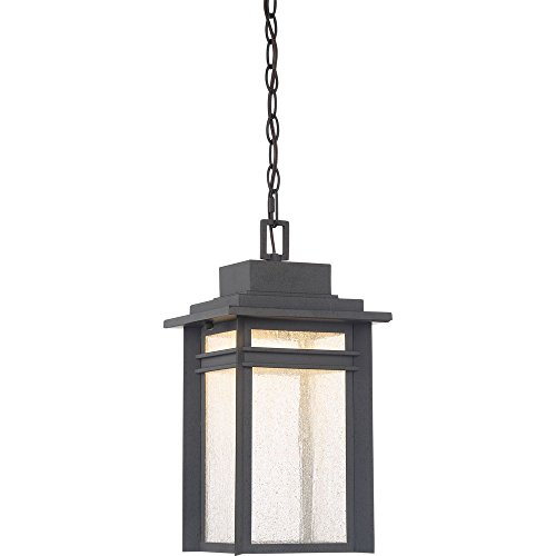 Lantern Outdoor Beacon Large Wall (Quoizel BEC1909SBK Beacon Outdoor Lantern in SBK - Stone Black)