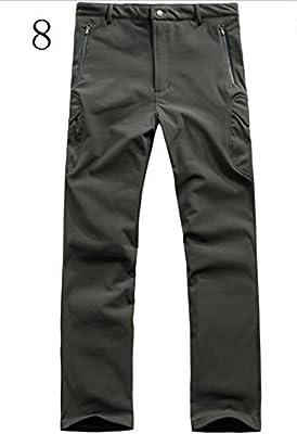 SANKE Men's Waterproof SoftShell Hunting Fleece Outdoor Pants