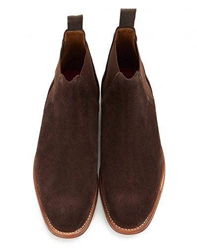 Nolan Grenson Grenson 10 Bottes Chaussures Chelsea Daim En Chaussures Chocolat q7qwSxXgOa