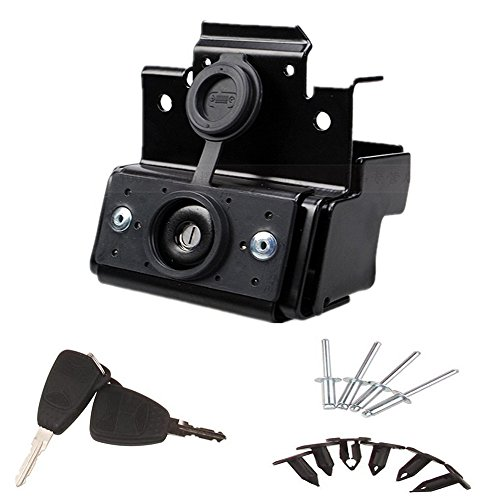 ELONN-Jeep-Wrangler-JK-Hood-Lock-wKeys-Anti-Theft-Kit-Assembly