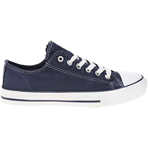 XTI 33825 Damen Sneaker Blau Blau