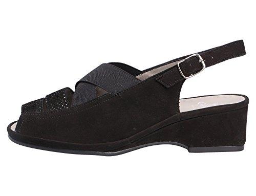 pour Sandales ara Noir Femme ara pour Sandales Femme pv6Pn
