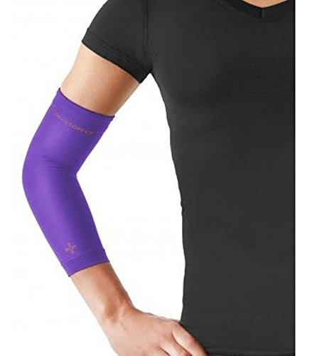 Tommie Copper Women's Vantage Elbow Sleeve, Plum, X-Large ()