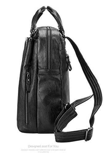 Backpack Large PU Yan Women's Bag pocket Shoulder Multi Show New q1wHPpx6