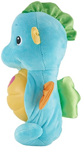 41tna3ZzVEL - Fisher-Price Soothe & Glow Seahorse, Blue