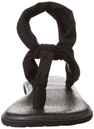 Sling Flop Black Yoga Ella Women's Sanuk Flip OESZwH7q