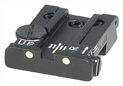 Beretta OEM Target Adjustable Rear Sight - White Dot, 92/96 Series - E00169