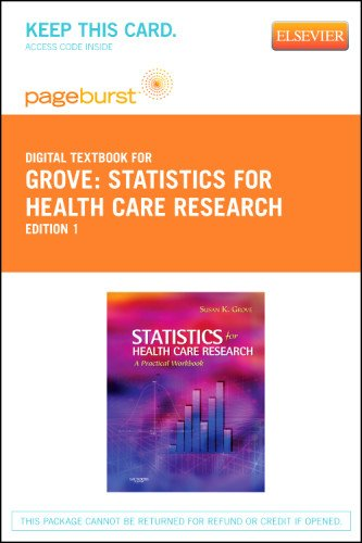 Statistics for Health Care Research - Elsevier eBook on VitalSource (Retail Access Card), 1e
