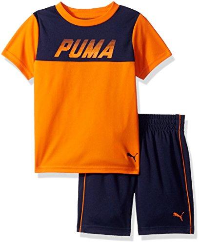 PUMA Boys 2 Piece Tee & Short Set