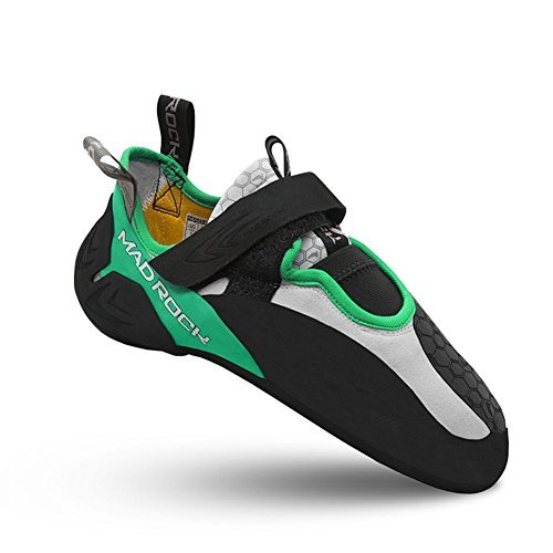 Mad Rock Drone Low Volume Climbing Shoe Green/Black, 9.5