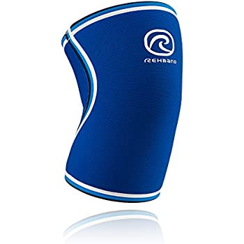 Rehband Blue Line Knee Support 7084 7mm - Medium - Expand Movement & Cross Training Potential - Medical Grade Knee Sleeve - Feel Stronger & More Secure - IPF Competition Approved - 1 Sleeve