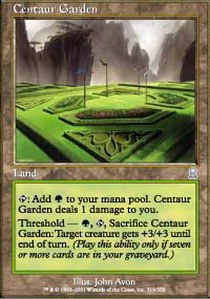 Magic: the Gathering - Centaur Garden - Odyssey