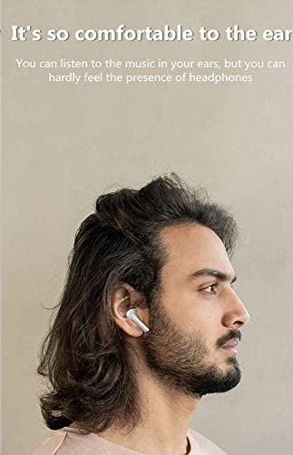 Bluetooth Wireless Headphones 5.0 in-Ear Earbuds,Wireless Earbuds,Noise Canceling Sports Headset IPX5 Waterproof,Pop-ups Auto Pairing with Charging Case, for Apple Airpods professional/Android/iPhone/Samsun