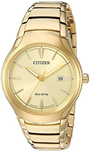Citizen-Mens-Dress-Quartz-Stainless-Steel-Casual-Watch-ColorGold-Toned-Model-AW1552-54P