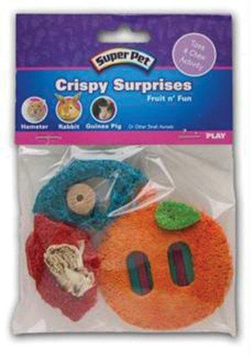 Crispy Surprise Chew Small Animal Toy Style: Fruit