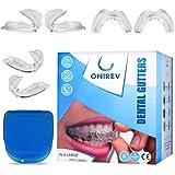 [6 en 1]Férula dental anti bruxismo - dispositivo profesional - Termosensible - nocturno - tratamiento ATM - evita el…