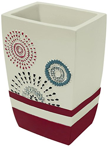 Popular Bath Suzanni Tumbler, Burgundy