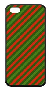 Durable Hard Case iphone 5cC Christmas Stripe Back Cases
