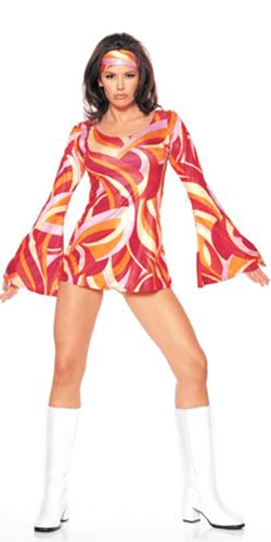[Mod Retro Girl Outfit or Costume] (60s Mod Girl Costumes)