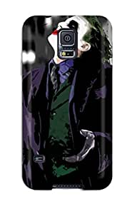 9005708K16073609 Tpu Case Skin Protector For Galaxy S5 The Joker With Nice Appearance