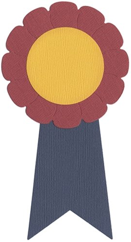 QUICKUTZ We R Memory Keepers REV-0040 4 by 4 Dies, Award Ribbon