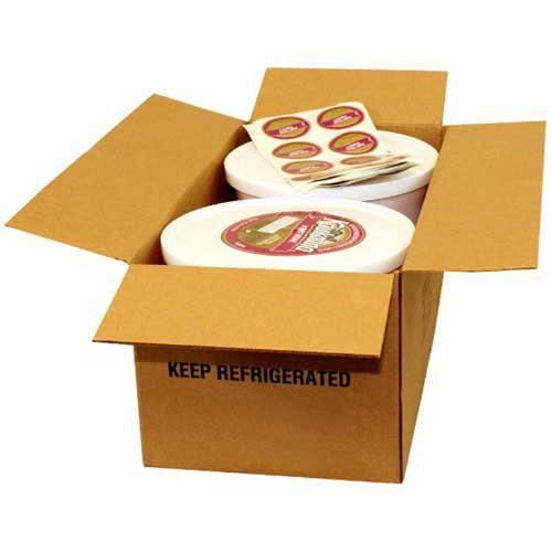 Kaukauna Port Wine Cheese Spread, 10 Pound Pail -- 2 per case. by Kaukauna